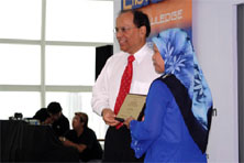 Ms Azizah Sidek awarded Marshall Cavendish Librarian Award