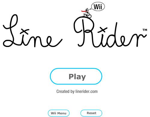 line rider wii