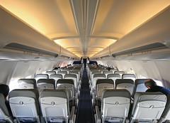 Lufthansa cabin
