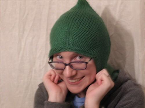 Me, looking a bit elfin