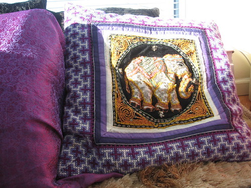 India Pillow by ashpei