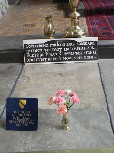 Shakespeare's burial place