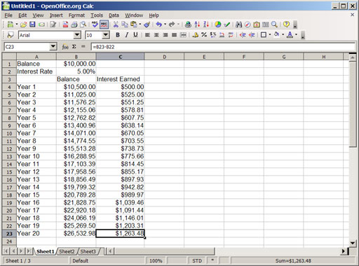 Calculate Interest Rate Credit Card Balance
