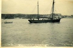 Hobble Boat being towed