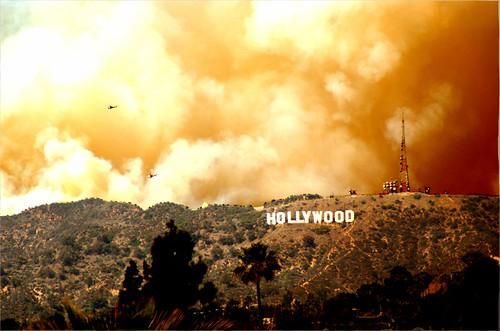 Hollywood Fire por