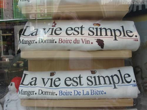 La vie est simple, Québec