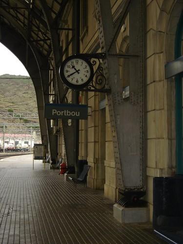 Estació de Portbou - 10h40