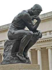 The Thinker by Auguste Rodin Bronze