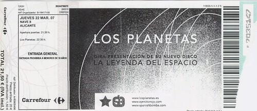 Los Planetas @ nave8