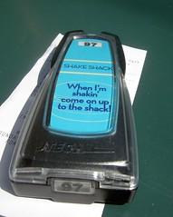 Shake Shack buzzer