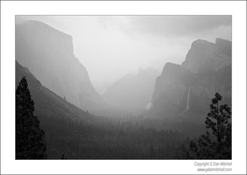 Evening Rain, Yosemite Valley