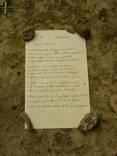 On Baudelaire's tomb