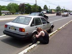 Broke Down Car