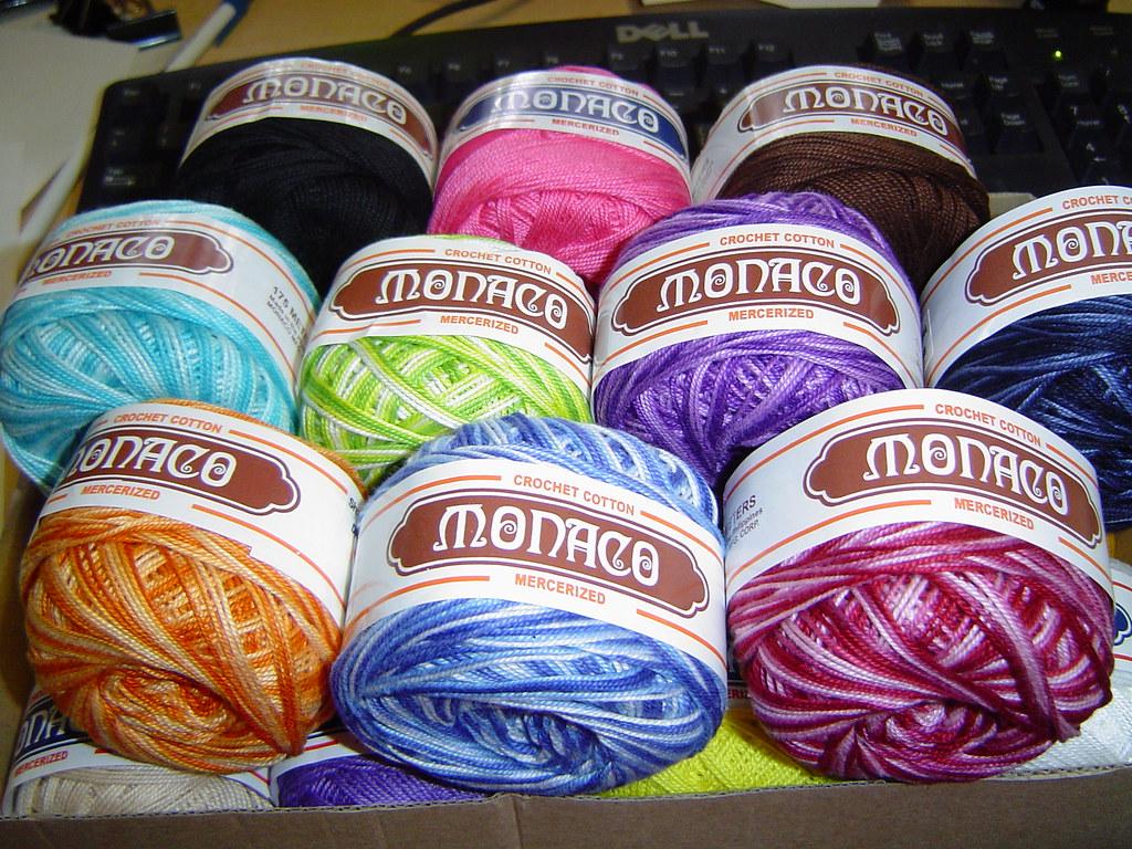Monaco Crochet Thread