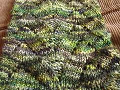 Monkey Sock from Knitty