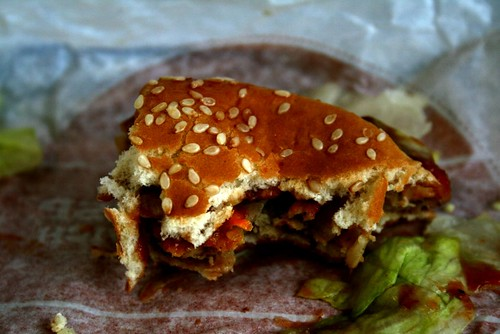 Burger Kings Veggie Burger by smwarnke4