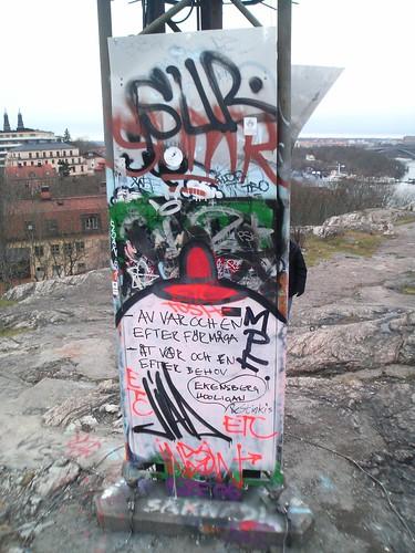 Urban message - skinnarviksberget