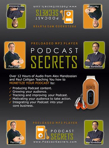 Podcast Secrets MP3 Player