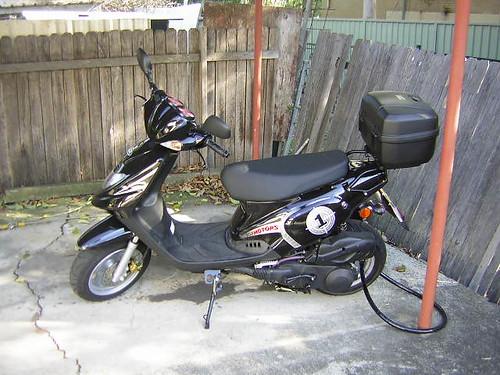 my new scoot