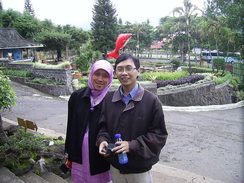Aku bersama istri