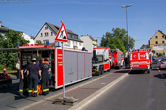 Schwerer Verkehrsunfall am Bhf Kastel 30.04.07