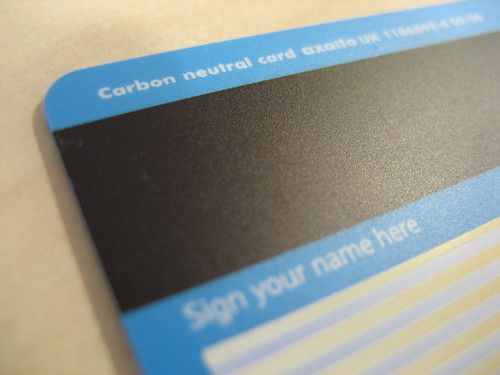 New Barclays Card are Carbon Neutral