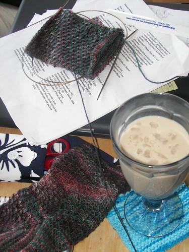 Second Sock & Latte
