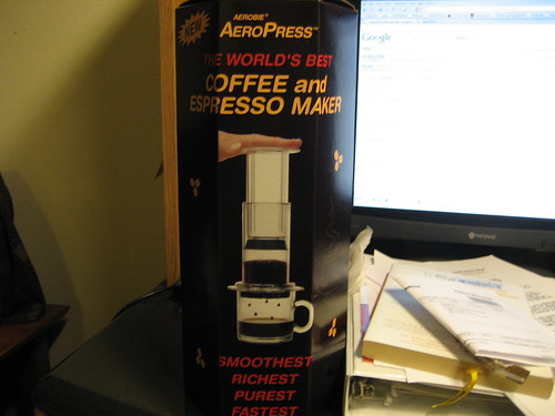 My new AeroPress Coffee Maker