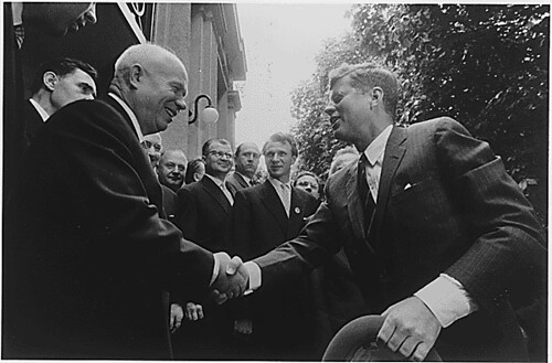 Kennedy was tested early on in office also.