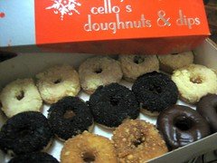 Cello's Doughnuts and Dips (from somebody's flickr)