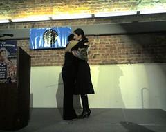Lydia Cacho Ribeiro accepting Ginetta Sagan Aw...