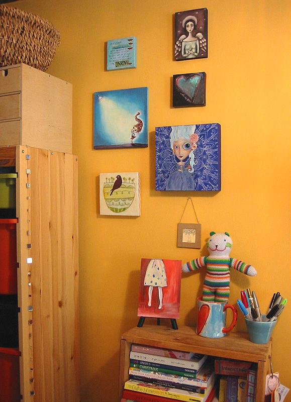 Artsy Walls: Creative Thursday + Outi Harma