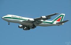 Alitalia Cargo 747-200F