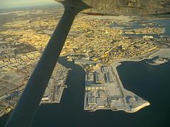 Passing over Helsinki