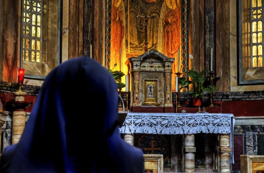Cowled Prayer