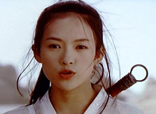 Zhang Ziyi Sexy Pout