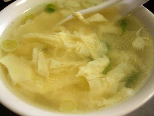 egg soup/蛋花湯