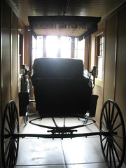 Mrs Winchester's buggy