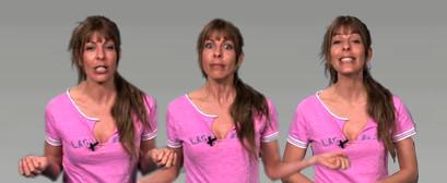 Iria, presentadora de mobuzzTV