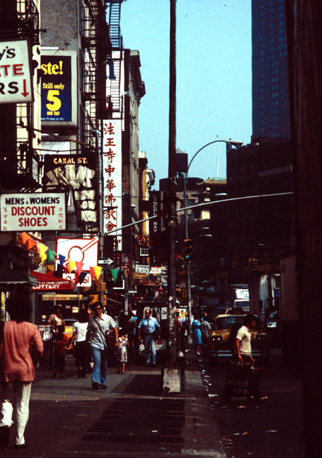 Chinatown, New York, July 1980.
