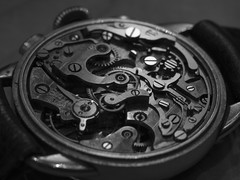 Grandfather's Watch, B&W