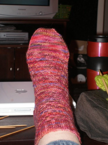 Sock #1 - front view