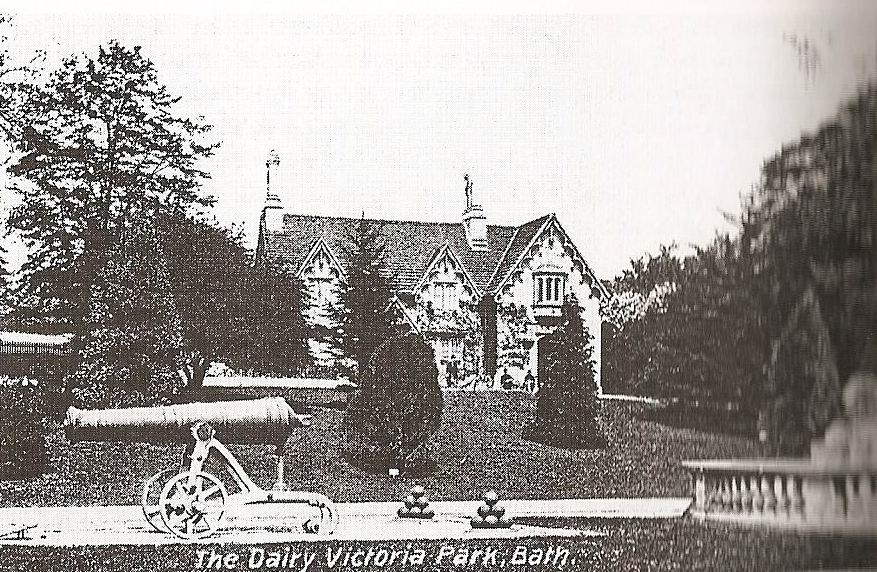 Royal Victoria Park.Old Dairy.1831.