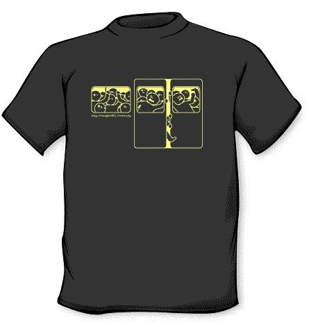 Camiseta metro lleno