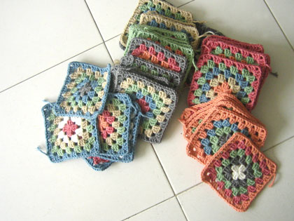 granny squares to be a blanket