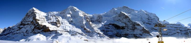 Eiger y Jhungfrau