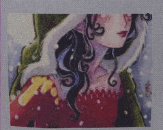Winter ACEO another page completed