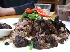 Jerk Chicken with Rice and Kidney Beans - Babb...