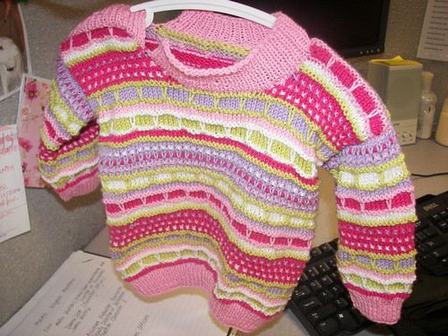 Easter Egg Sweater