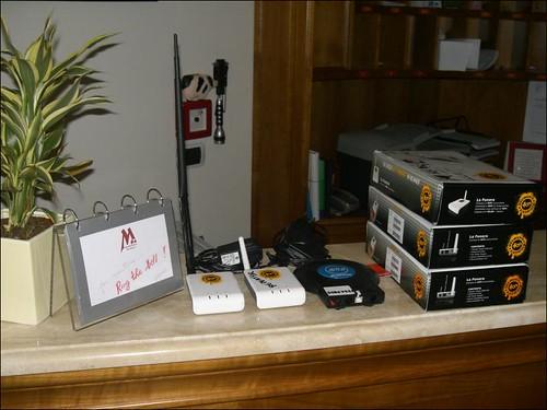 Building FON wifi network @ Montefiore Hotel